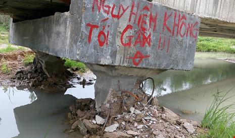 Ba đơn vị 'cãi' kết quả giám định cầu sập ở Bình Thuận