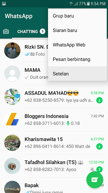 Cara Backup Histori Chat WhatsApp Agar Tidak Hilang