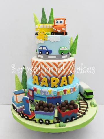 The Sensational Cakes Perfect Art Cars Theme 3d Cake