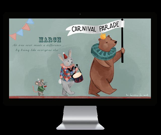 E' bello essere diversi - March 2019 desktop wallpaper