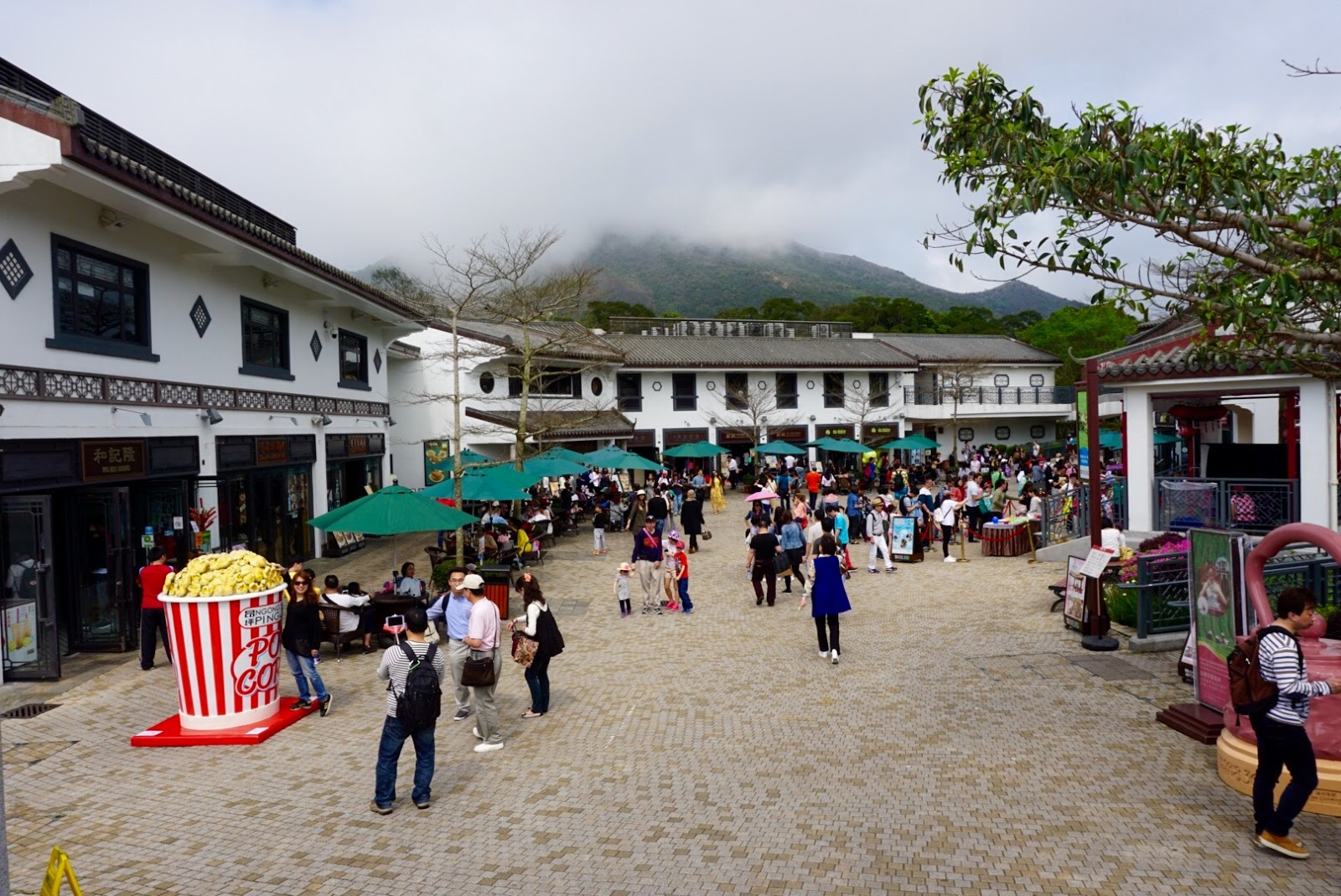 Hong Kong travel diary blog vlog ngong ping village