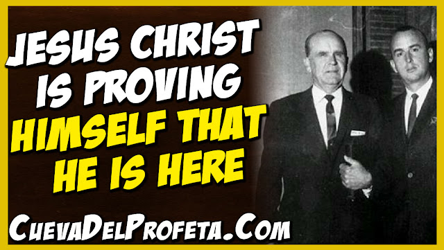 Jesus Christ is proving Himself that He is here - William Marrion Branham Quotes