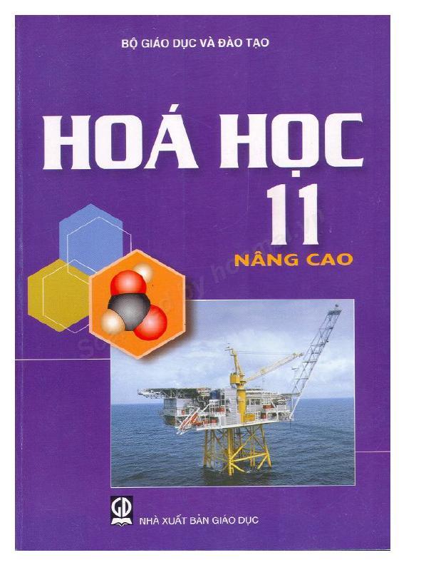 Sách Giáo Khoa Hóa học 11 Nâng Cao