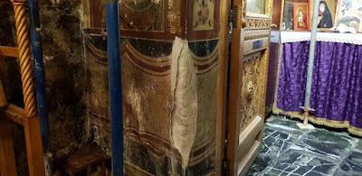 Καταστρέφονται οι αγιογραφίες του Φώτη Κόντογλου στον Άγιο Χαράλαμπο στο Πεδίον Άρεως