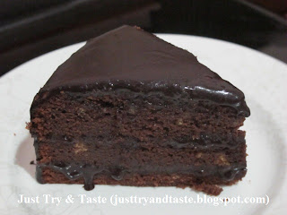 Resep Devil's Food Cake JTT