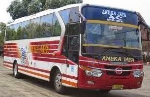 rute dan tarif bus aneka jaya pacitan