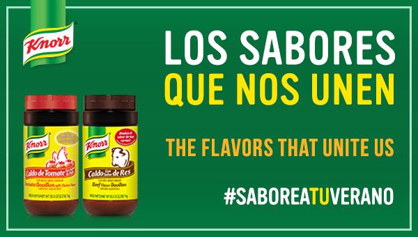 #SaboreaTuVerano con Knorr