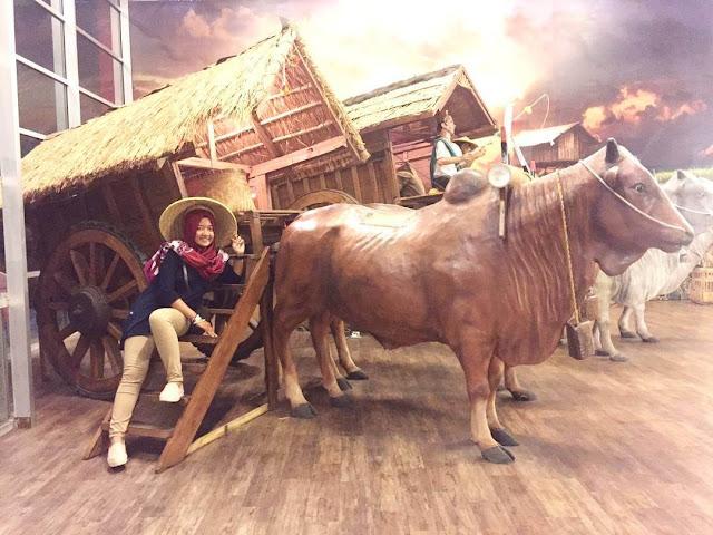 foto transportasi tradisional di indonesia