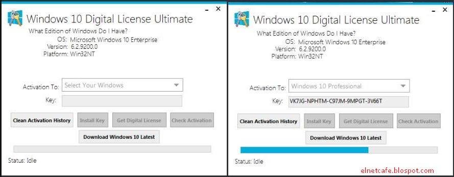 Windows 10 Digital License Ultimate v1 1 - ELNETCAFE