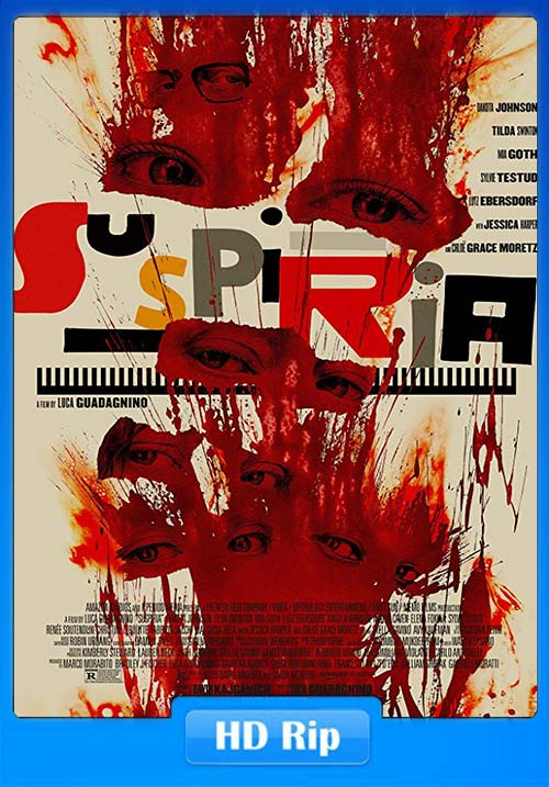 Suspiria 2018 English 720p HDRip x264 | 480p 300MB | 100MB HEVC