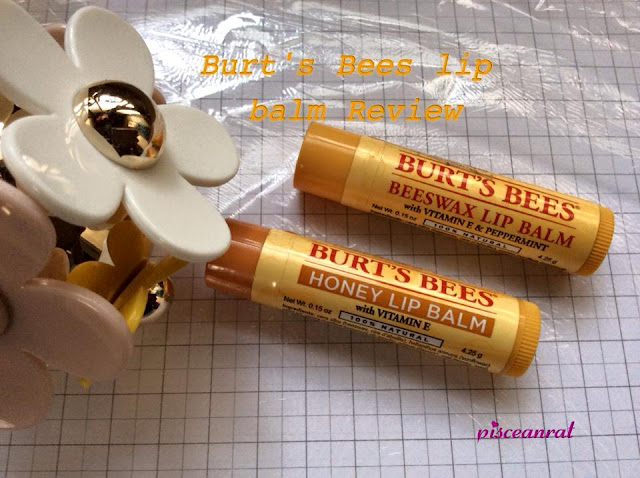 Burt's Bees beeswax lip balm review