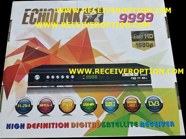 ECHOLINK 9999 HD RECEIVER BISS KEY OPTION