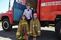 Юные бойцы а будущем  пожарные