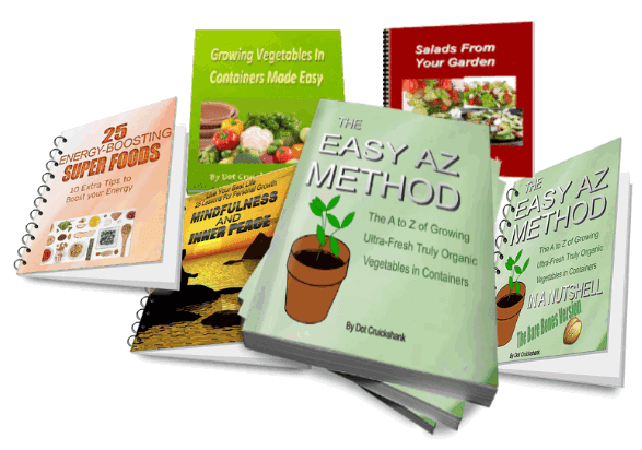 The Easy Az Method, The Easy Az Method Review. The A to Z of Growing Ultra-Fresh Truly Organic Vegetables in Containers