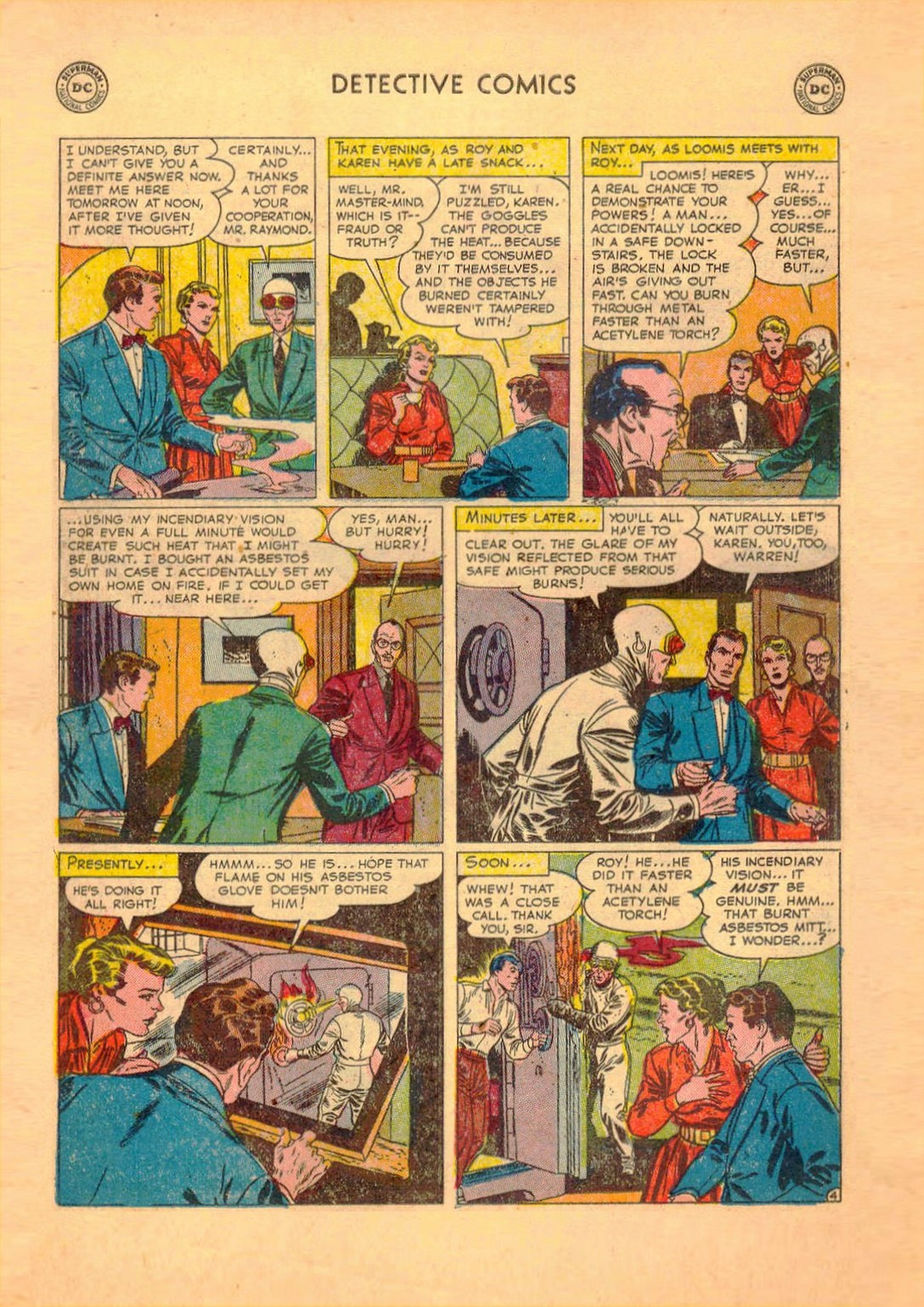 Read online Detective Comics (1937) comic -  Issue #182 - 19