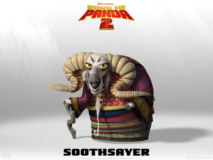 Kung Fu Panda 2 Character Posters Teaser Trailer