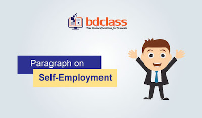 Paragraph on self employment