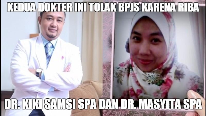dr. Kiki Madiapermana Kustiman Samsi SpA dan dr. Masyita SpA