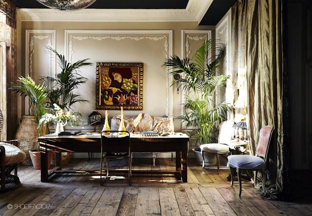Noir blanc un style for Deco british style