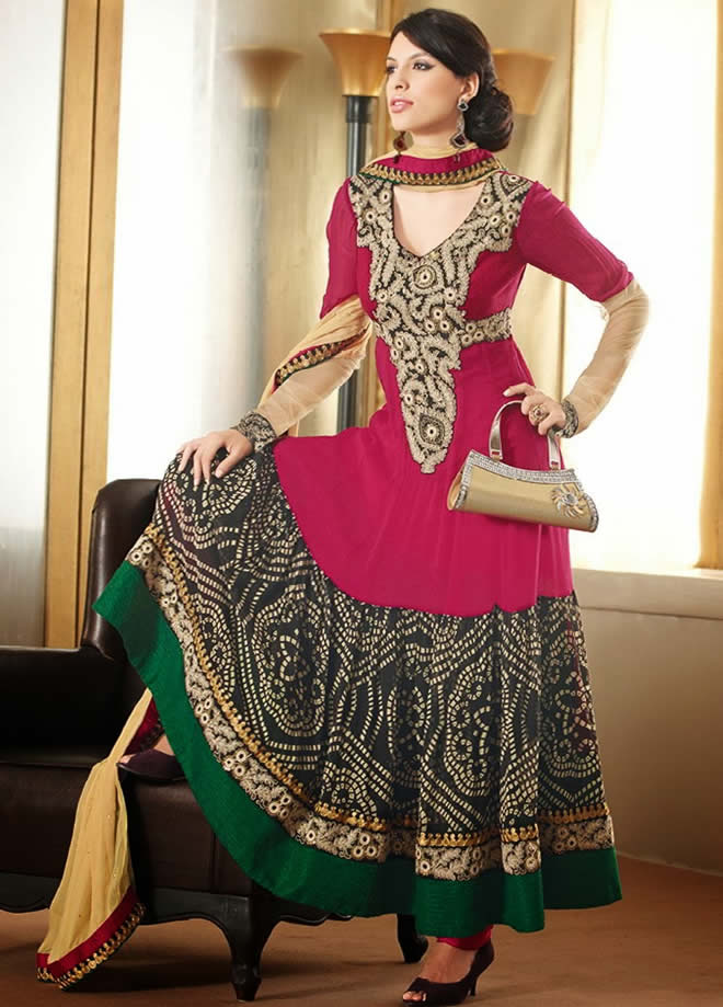 Stylish and Beautiful Pakistan Dresses in 2016 For Girls