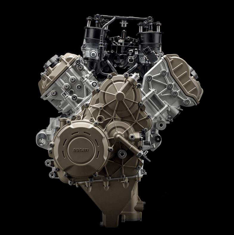 Ducati perkenalkan mesin V4 yang akan mengantikan L-Twin pada New Panigale !