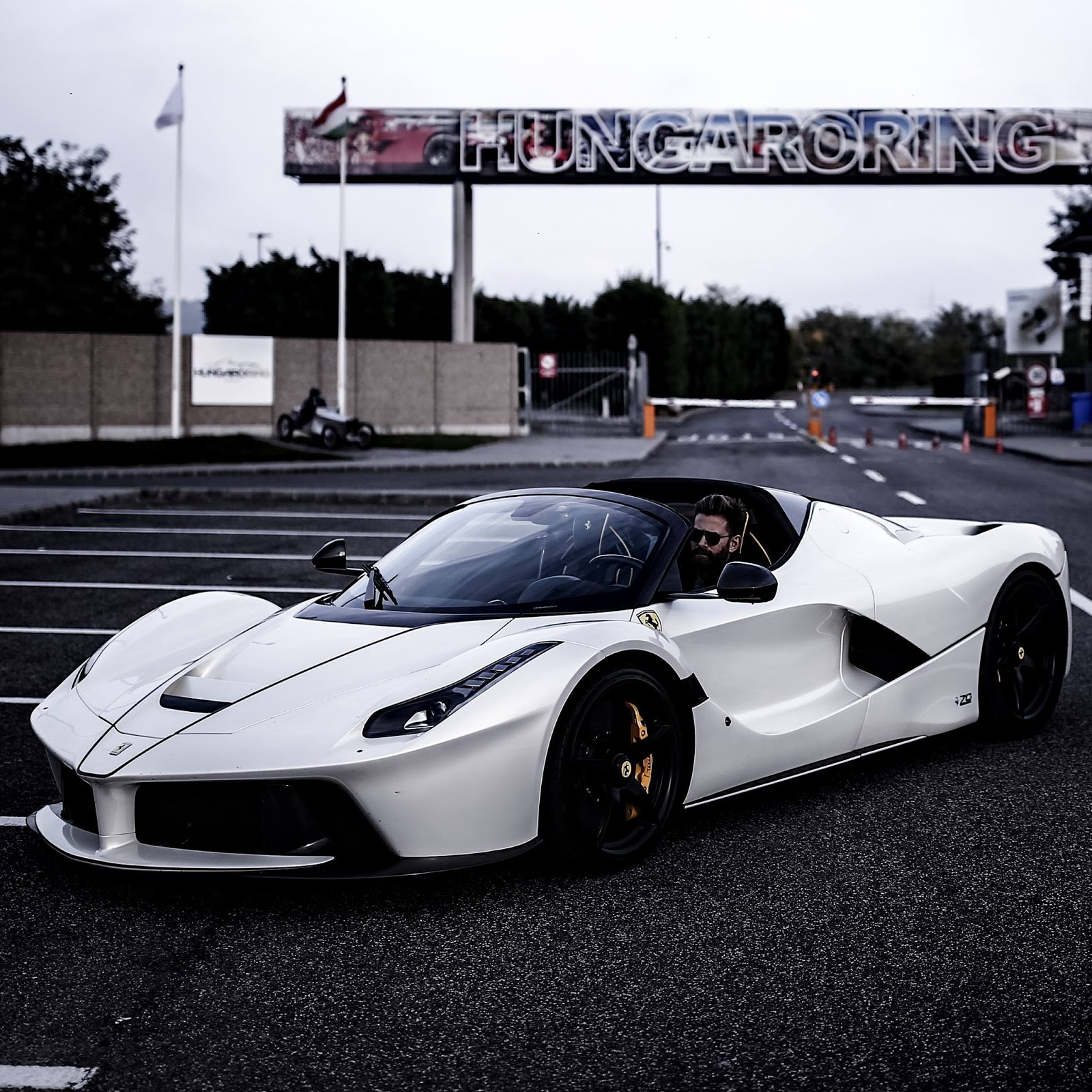 Josh Cartu S White Laferrari Aperta Is Simply Breathtaking