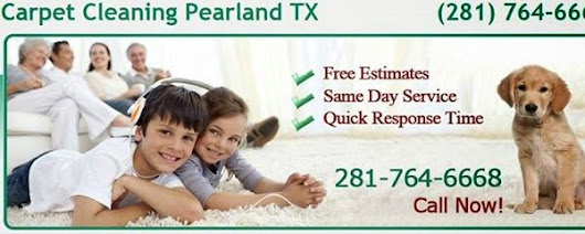 Carpet Cleaning in Pearland TX