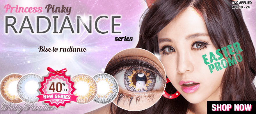New Products - Princess Pinky Radiance Series - Color Lens