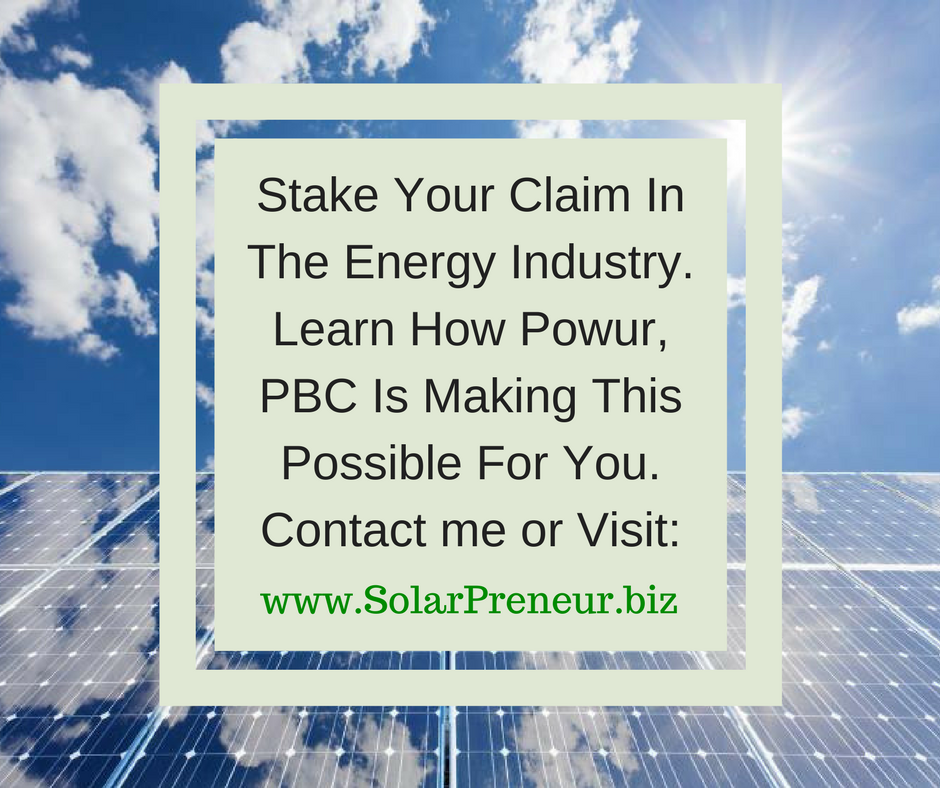Learn how YOU can Own your Own Energy Business