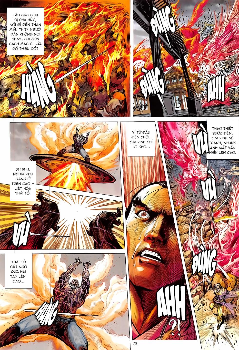 Thiết Tướng Tung Hoành – Chap 202
