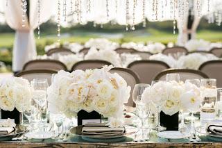 Warna Tema Majlis Kahwin - Putih
