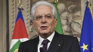 President Sergio Mattarella