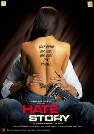 Hate Story 2012 DVDRip 400MB Hindi Movie 480p