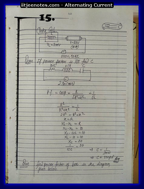 alternating current notes5