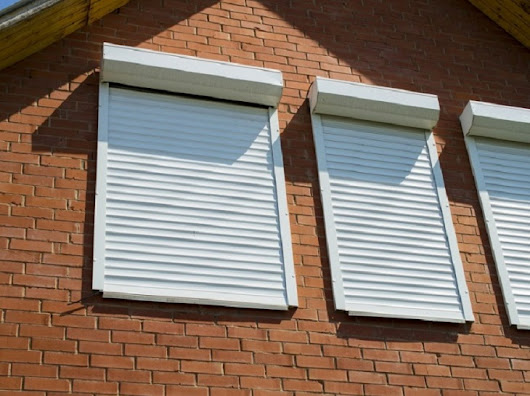 Benefits of Installing Window Roller Shutters!