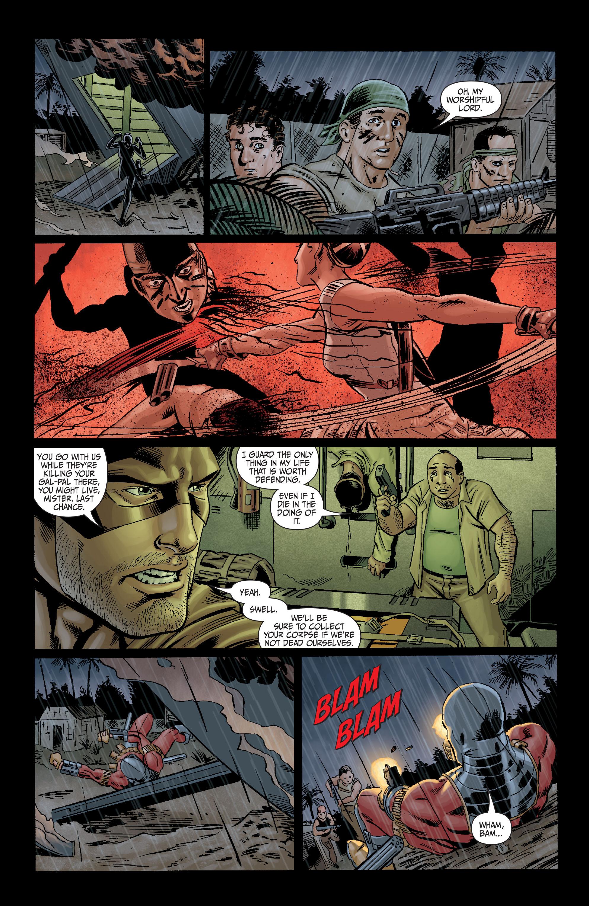 Read online Secret Six (2008) comic -  Issue #10 - 19