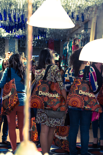 blogger party Desigual Catania