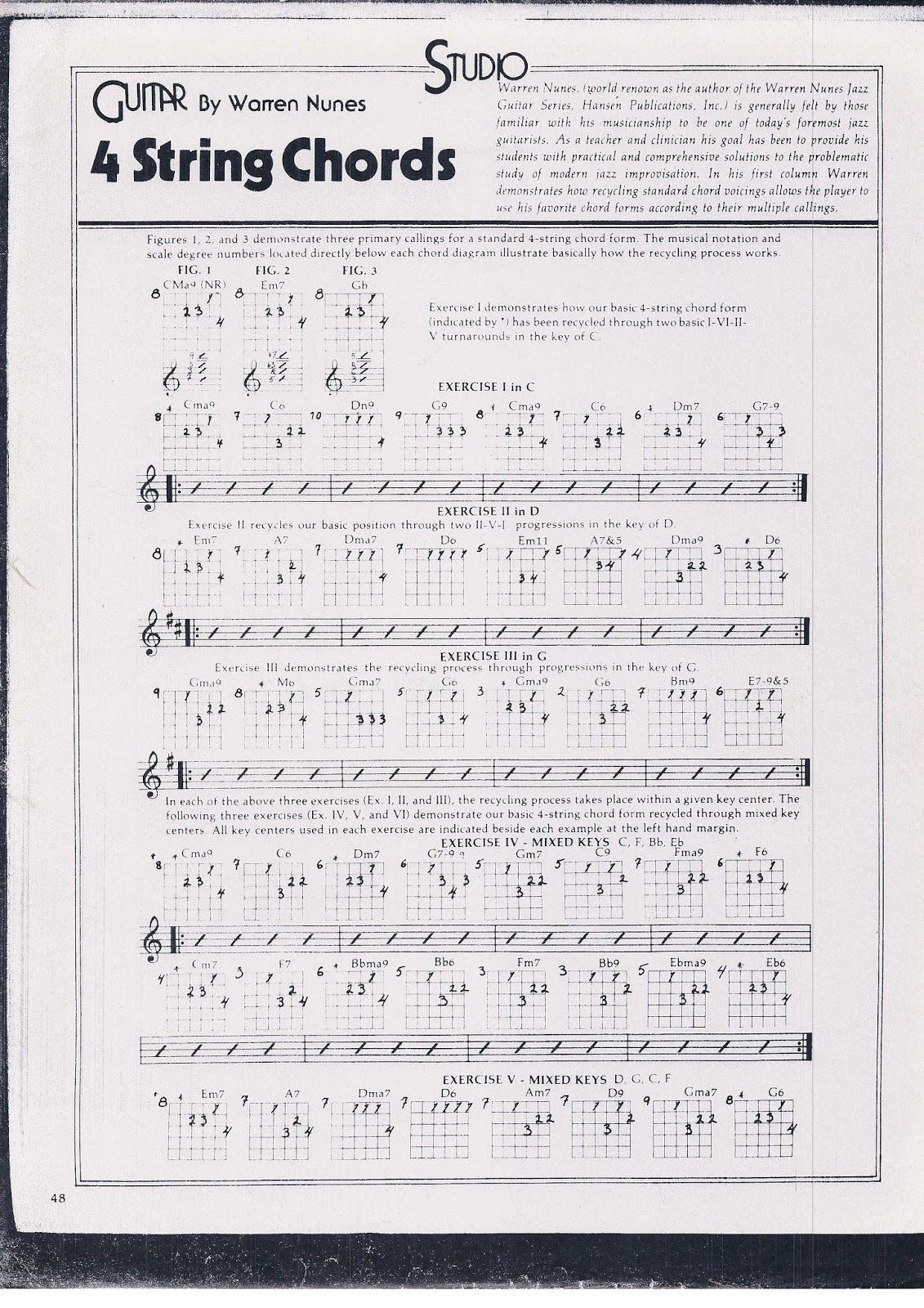 4-note Extended Harmony Jazz Chord Voicing Opportunities