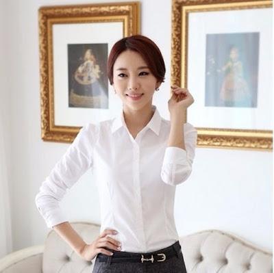 baju putih untuk cpns, baju putih untuk magang, baju putih murah