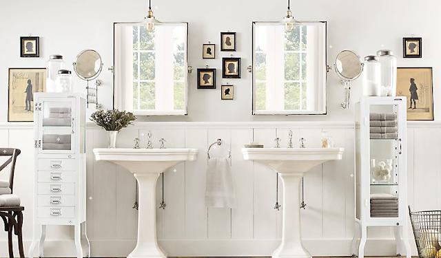 The Fat Hydrangea: Most Beautiful Bathroom