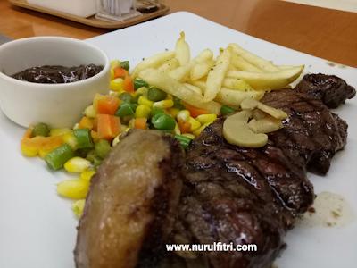 Menu Makanan di Steak 21 Karawang