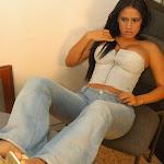 Andrea Rincon, Selena Spice Galeria 37 : Jean Azul y Top De Jean Con Cremallera Foto 22