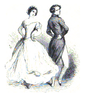 Frontispiece to Fashionable Dancing by Cellarius