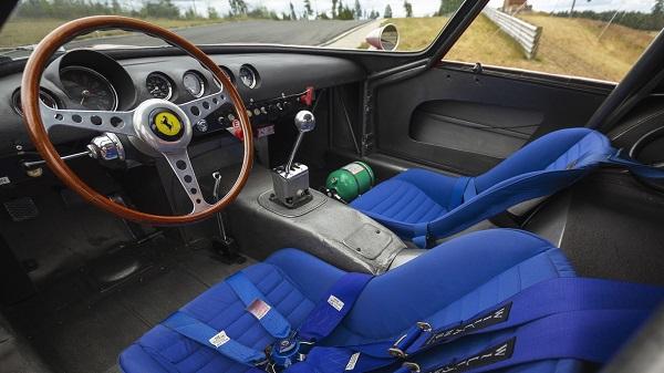 Interior Ferrari 250 GTO by Scaglietti de 1962