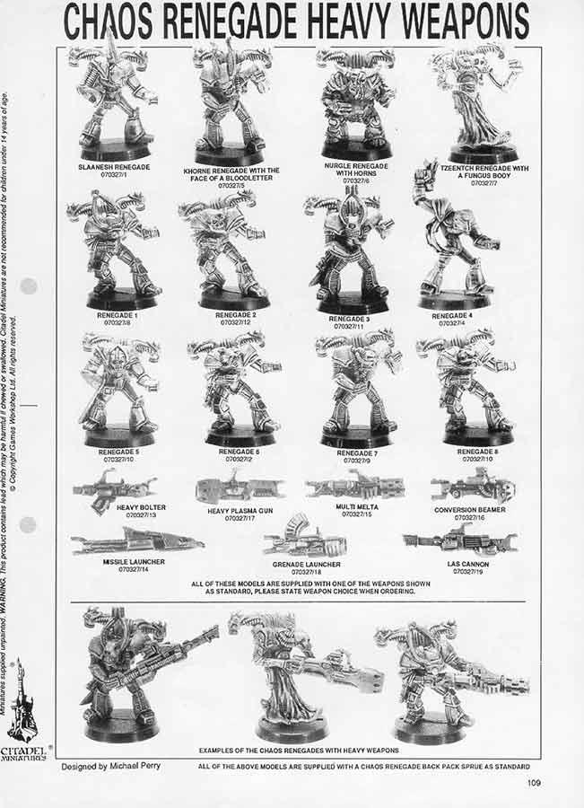 Goblin Lee's Miniatures Blog. : The Traitor Legions: Rogue