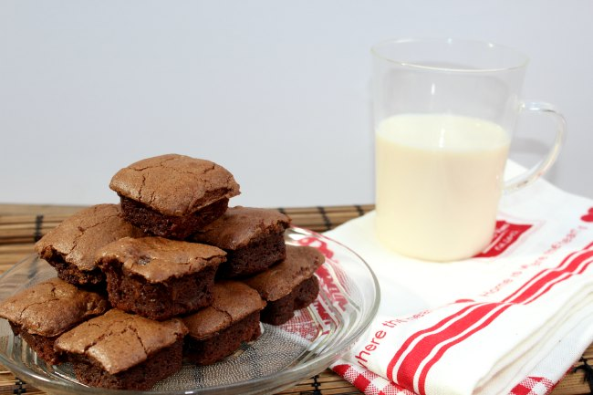 Receta de brownies de chocolate de My sweet recipe