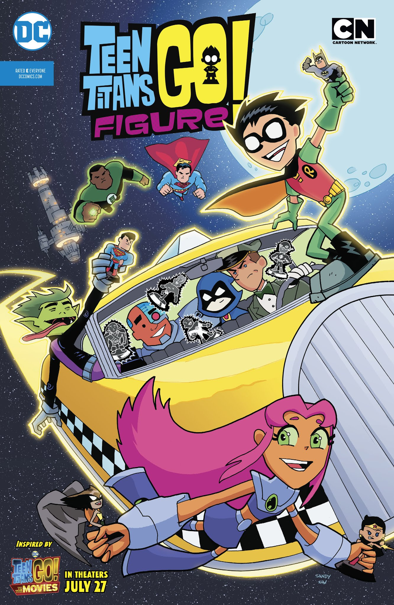 Teen Titans Go Figure! Full Page 1