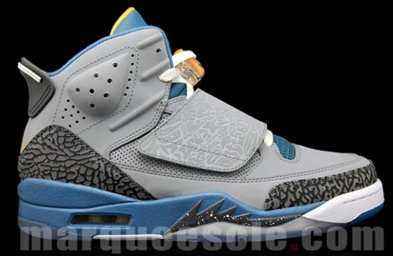 promo code a5f4c 17a64 The New Jordan Son of Mars Sneaker in a Stealth Shaded Blue-University Gold  colorway will be releasing on August 11th for 160, will you be picking  these up