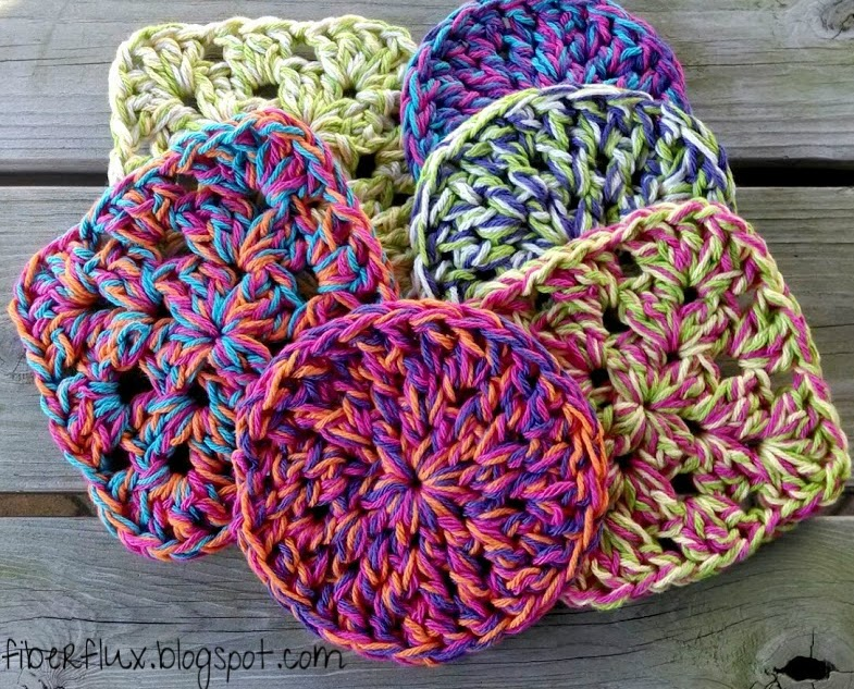 Fiber Flux: Free Crochet Pattern...Super Squishy Trivets!