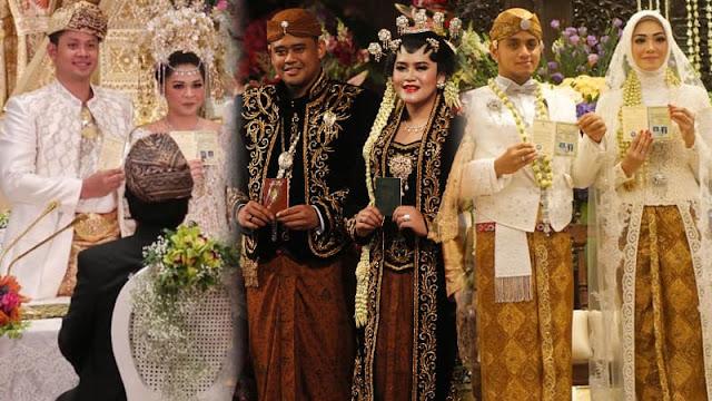 Melihat Perbedaan Pernikahan Anak Presiden Jokowi, Ketua DPD OSO, dan Ketua MPR Zulkifli Hasan, Ternyata....